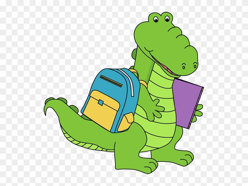 Alligator Going To School - Alligator Going To School #178086