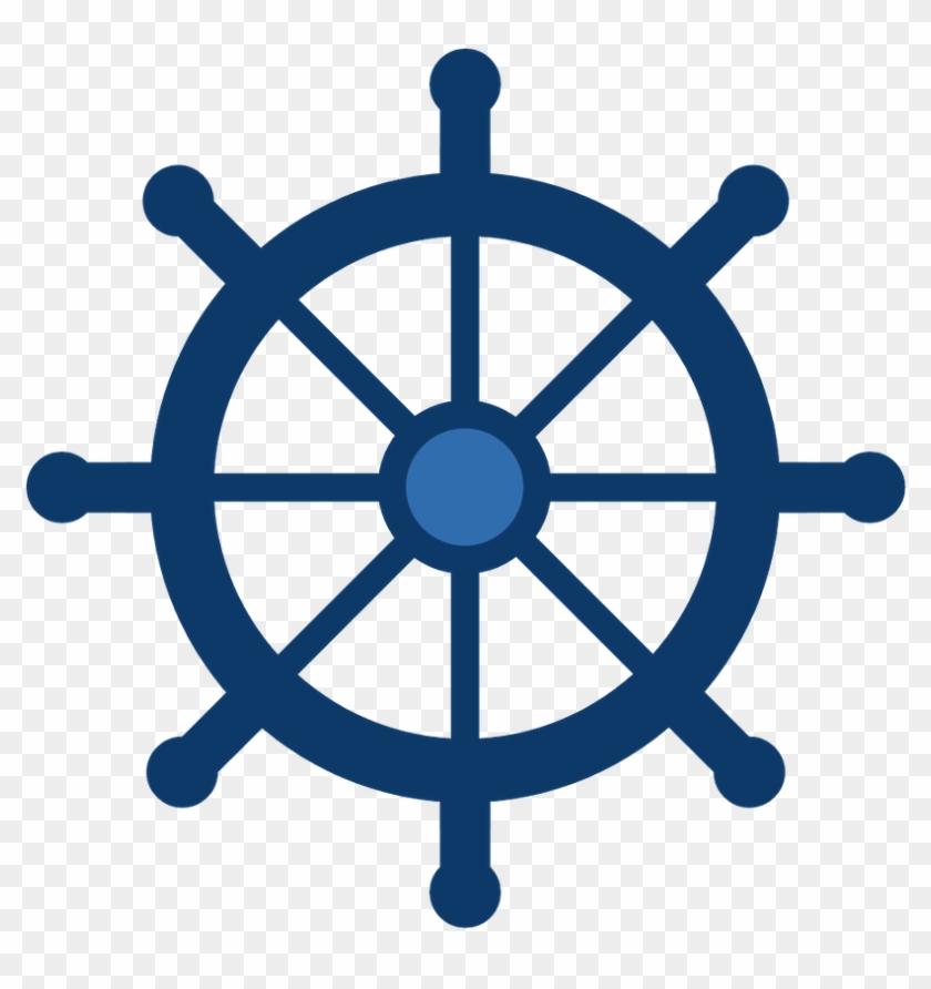 Say Hello - Boat Steering Wheel Icon #178102