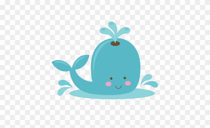 Cute Whale Svg File For Scrapbooking Whale Svg Cuts - Cute Whale Clipart Png #178231
