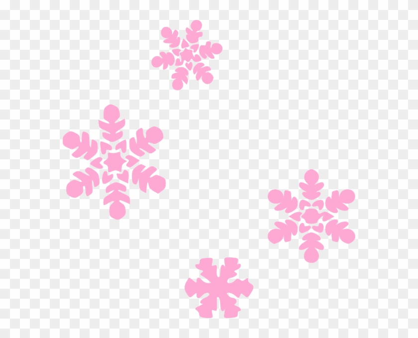 small clipart light pink snowflake clipart free transparent png