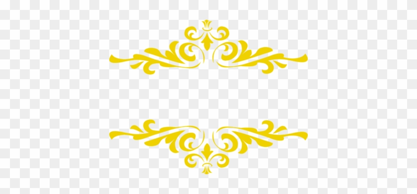 Gold Border Clipart - Beauty And The Beast Png #178328