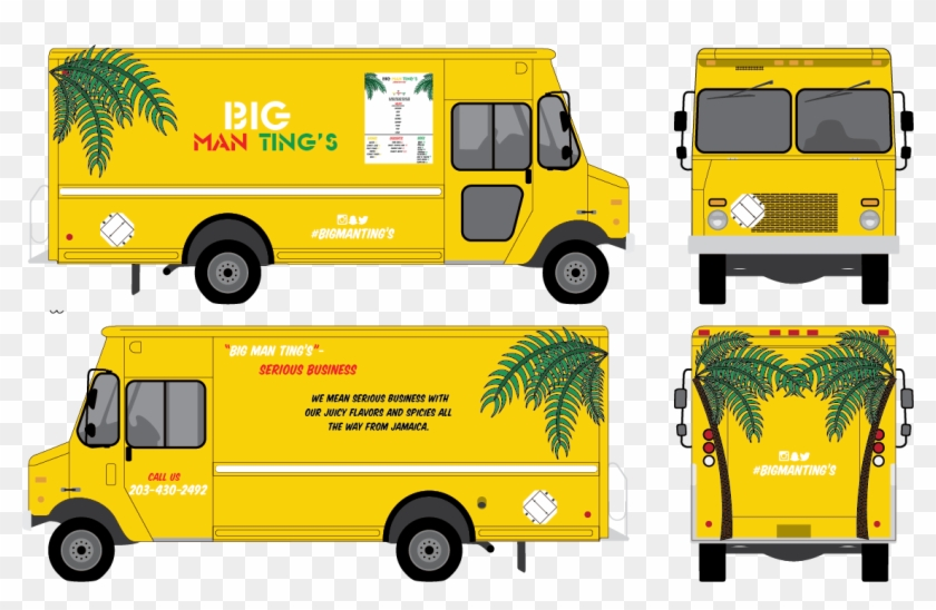 picture blank food truck template free transparent png clipart