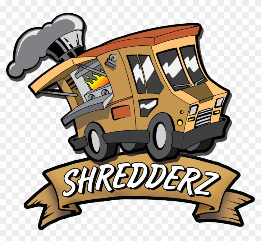 Shredderz Food Truck - Food Truck Cartoon Hd Logo #995114