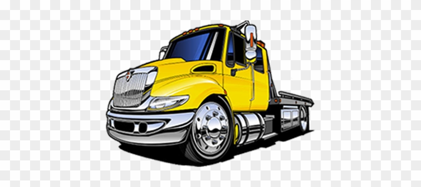 Best Towing Company In Long Beach Flatbed Tow Truck Vector Free Transparent Png Clipart Images Download