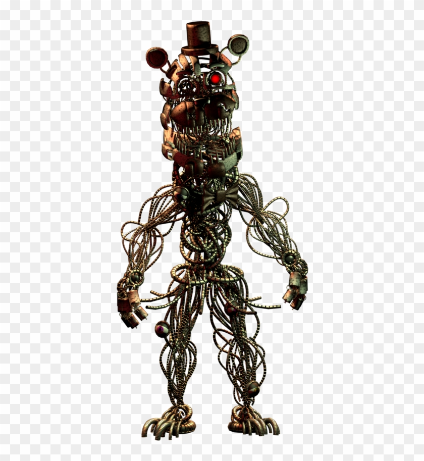 concept art for twisted freddy and twisted bonnie fnaf 6 molten