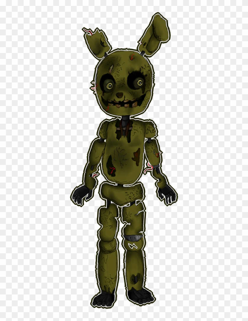 Springtrap Fnaf 3 Added A New Photo Hd Walls Find Wallpapers