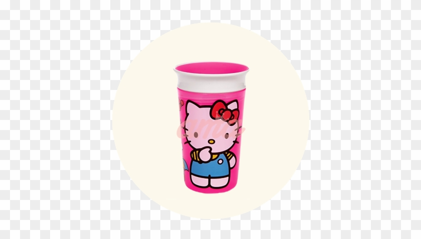 Munchkin Miracle® 360° Deco Sippy Cup 9oz Hello Kitty - Munchkin Hello Kitty Miracle 360 Sippy Cup - 9 Ounce #996662