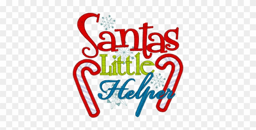Santas Helper Clip Art At Clker - Santa's Little Helper Sign #997398