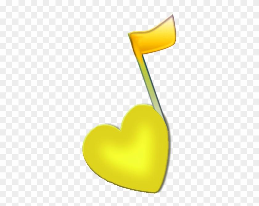 Yellow Music Note - Music Note Yellow #997441