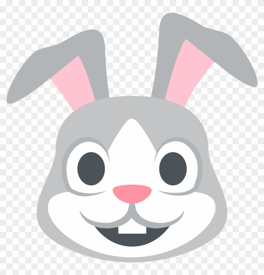 rabbit template 9 rabbit emoji free transparent png clipart