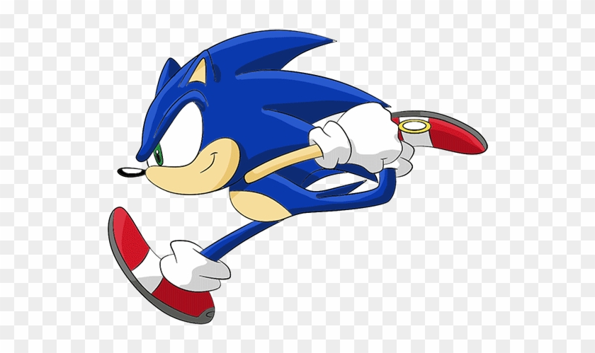 Minecraft Sonic Dance Party Series 2 Sonic The Hedgehog Running Gif Free Transparent Png Clipart Images Download