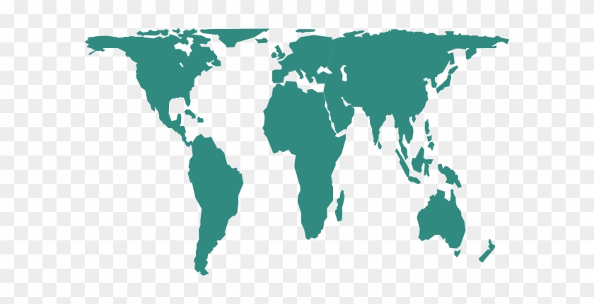 World Map Clip Art At Clker Gall Peters Map Vector Free