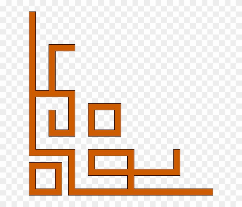 flat icon corner left bottom page border corners