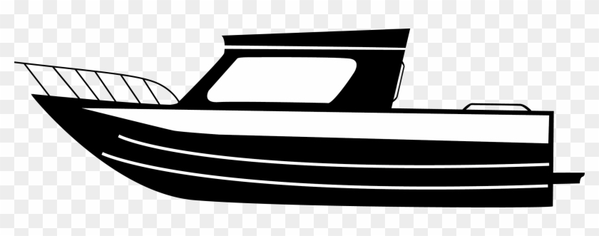 Pin Fishing Boat Clipart Black White Boat Black And White Free Transparent Png Clipart Images Download