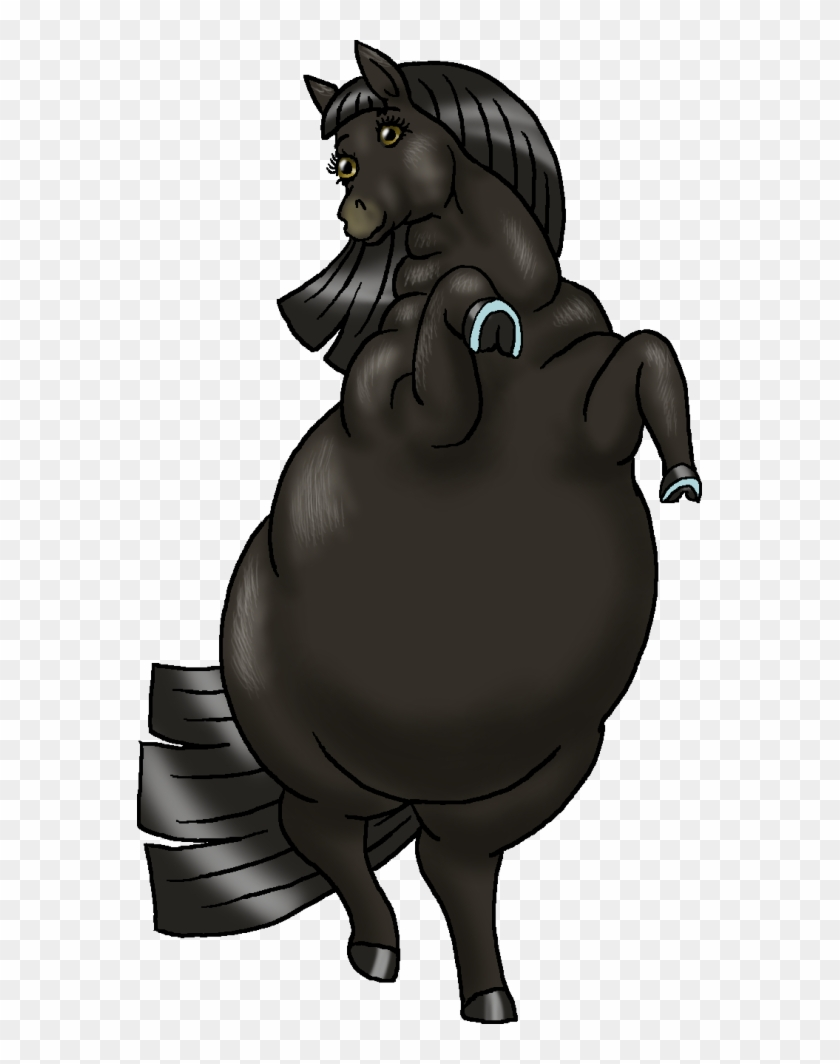Black Horse By Soobel Drawings Of Black Horses Free Transparent Png Clipart Images Download