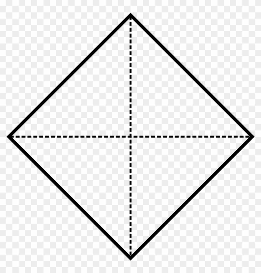 Square Diamond - Diamond Shaped Frame #1000088