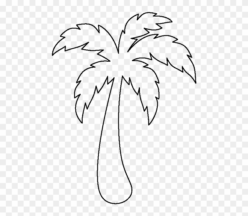 Reliable Palm Tree Leaf Template Perfect Printable Palm Tree