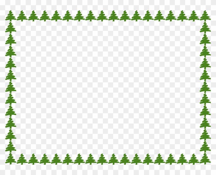 Png Clipart Clip Art Tree Border