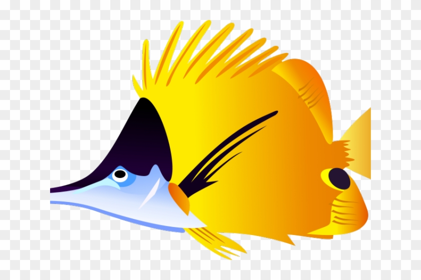 Pufferfish Clipart Colorful Tropical Fish - Colorful Fish Tile Coaster #1001011