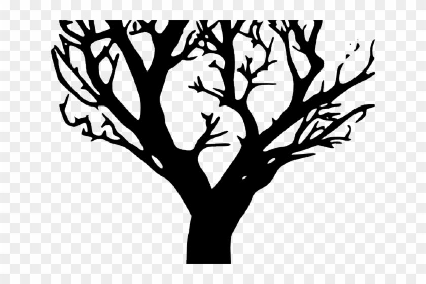 Dead Tree Clipart Barren - Draw A Tree On Your Wall #1001060