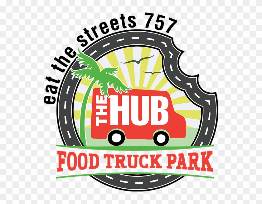 A Brand New Food Truck Village In Virginia Beach Theme - Food Truck Park Logo #1001078