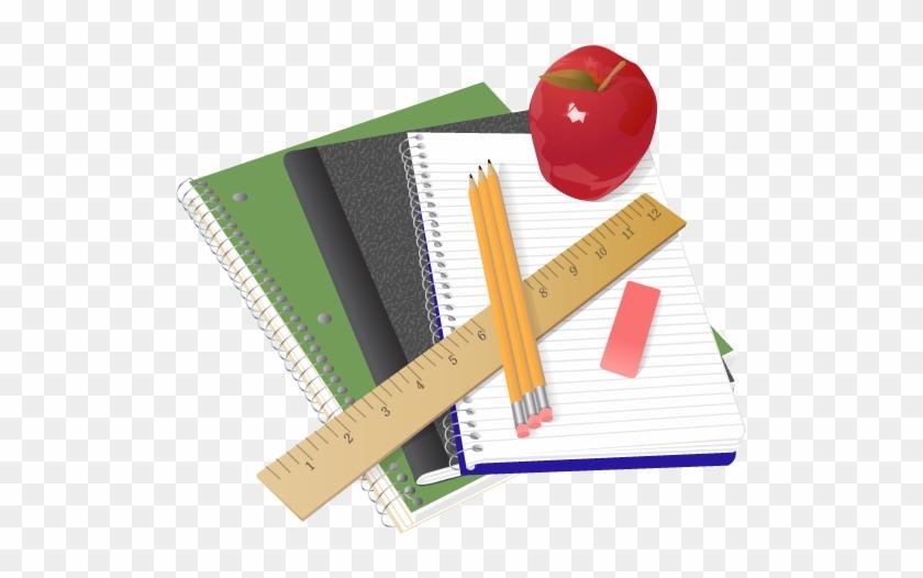 School Supplies Clip Art - High School Supplies Clipart #1001210
