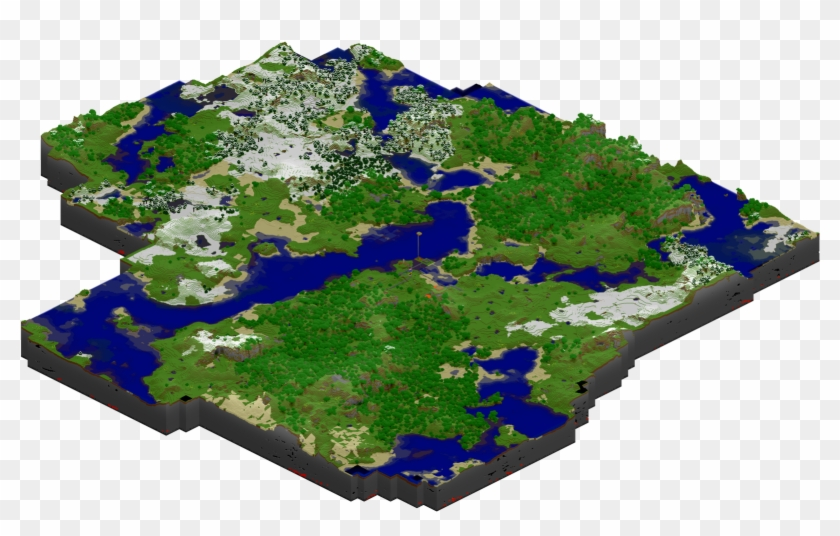 Minecraft World Maps - Map Of Minecraft World - Free