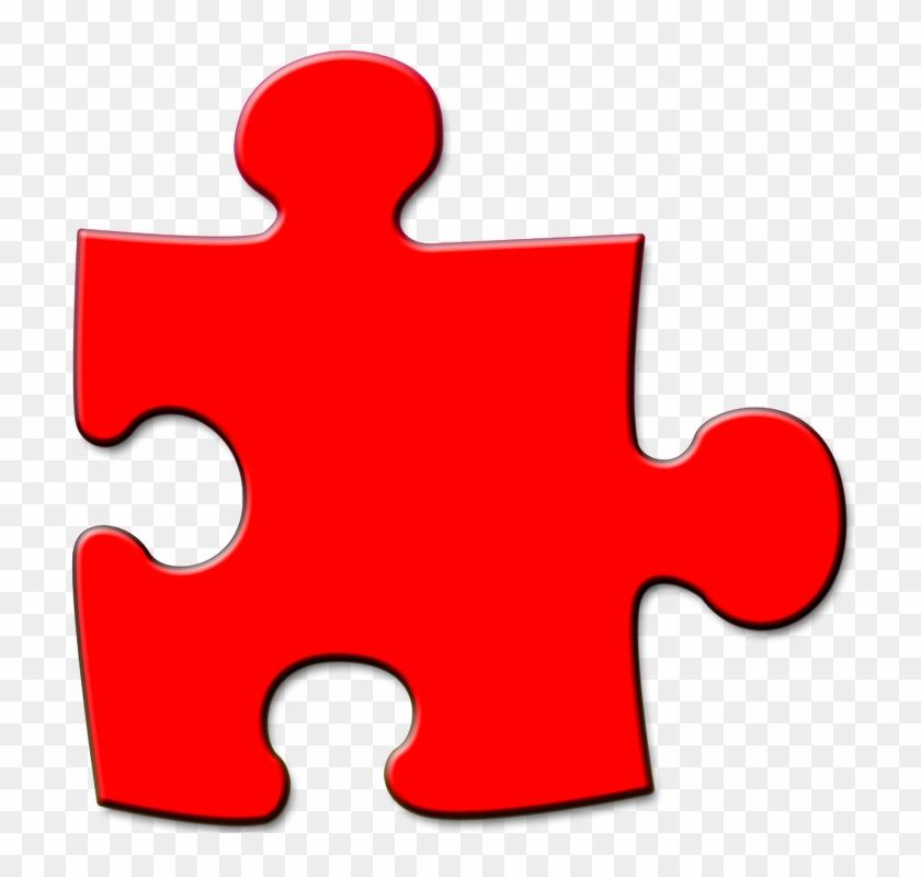 Jigsaw Puzzle Clipart 14, - Jigsaw Puzzle Piece Clipart Transparent #1001583