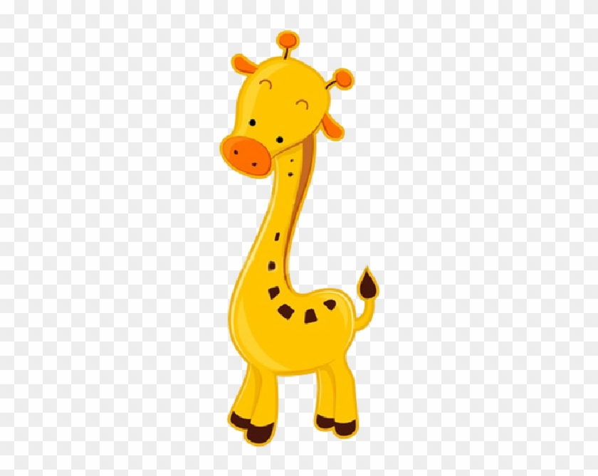 Giraffe Cartoon Animal Images - Baby Giraffe Cartoon Png #1001736