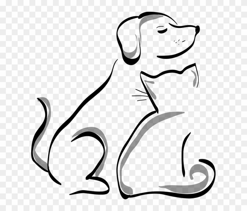 Free Image On Pixabay - Cartoon Dog And Cat #1001819