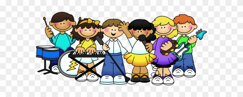 Illustration Featuring Kids - Talent Show Clip Art #1001851