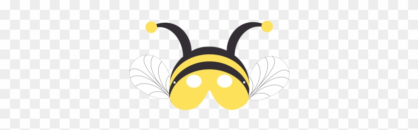 Bumble Bee Mask Bumble Bee Mask Template Free Transparent Png