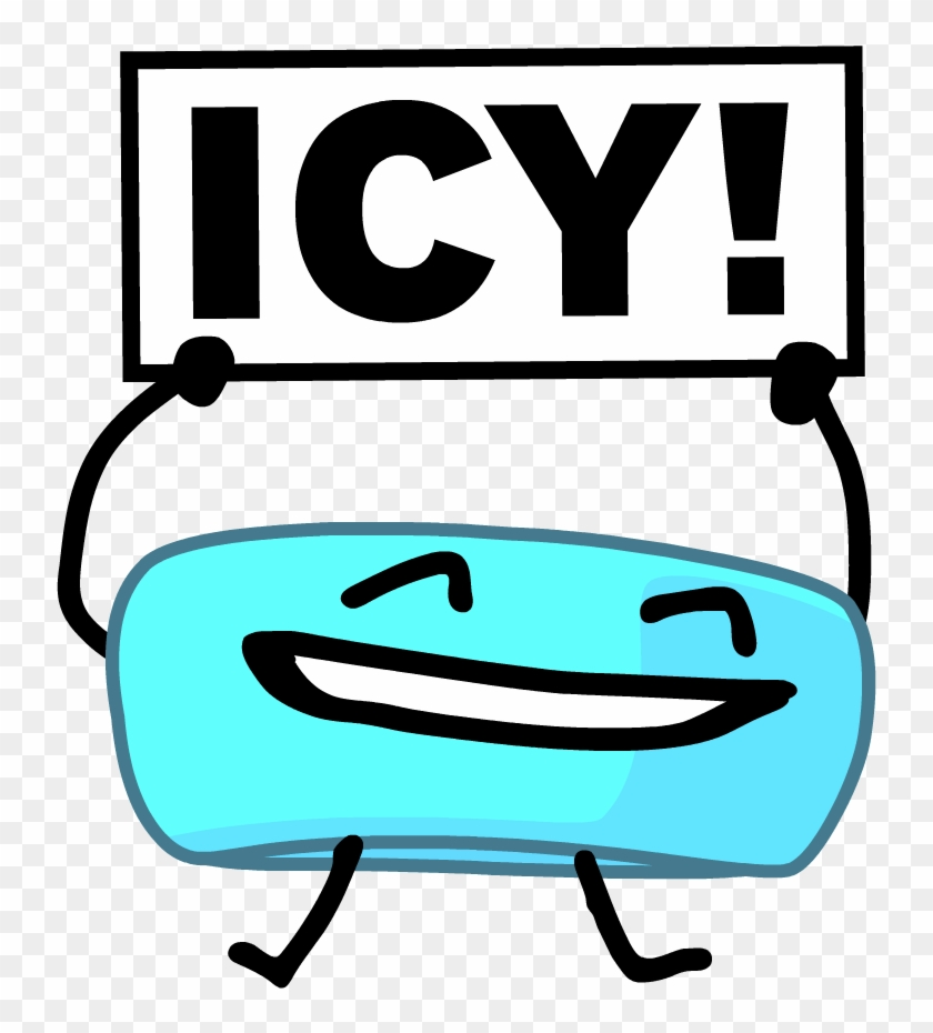 Go Ice Cube - Bfdi Go Ice Cube - Free Transparent PNG