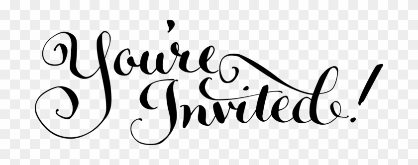 Invited Clipart You Are All Invited Free Transparent Png Clipart Images Download