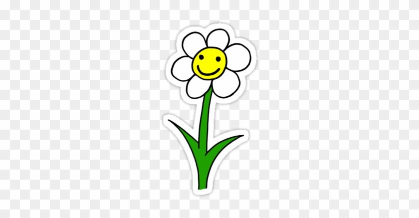 Pretty Flower Cartoon Happy Smiling Cartoon Flower Smile Flower