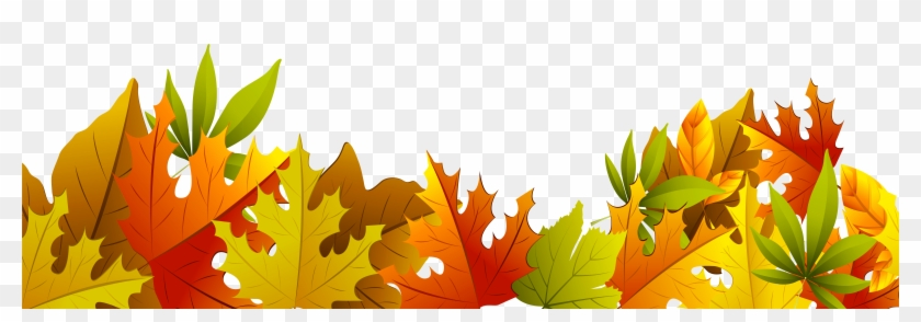 Decorative Autumn Leaves Png Clipart - Fall Leaves Clip Art #1002901