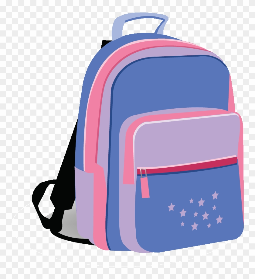 Full Quality Pictures - Pink Backpack Clip Art #1002910