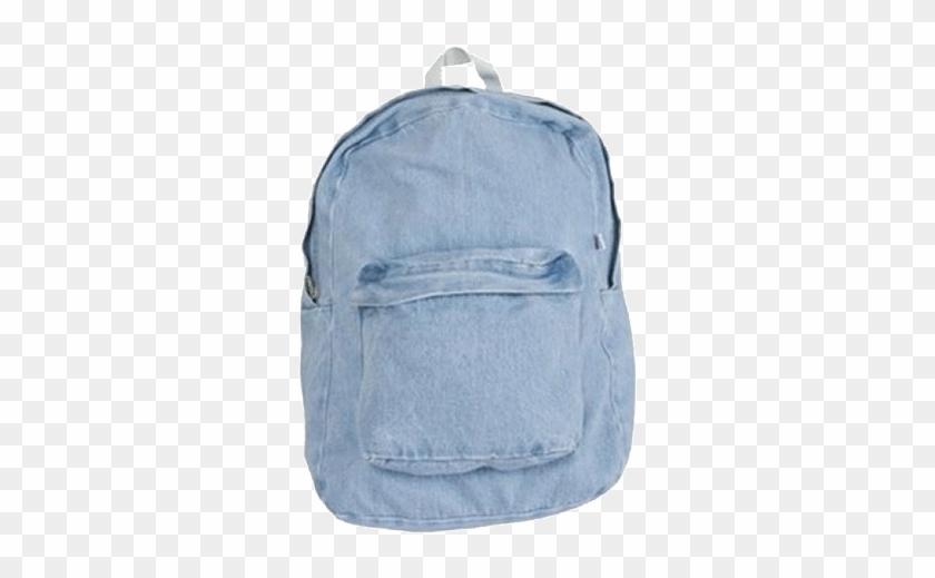 itgirl shop vintage denim school bag aesthetic apparel vintage