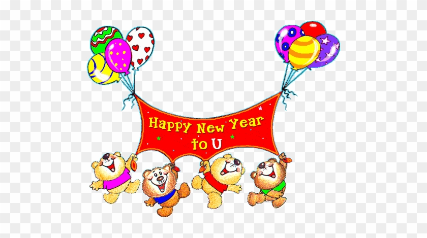 love new year e cards free download happy new year 2018 gif cartoon