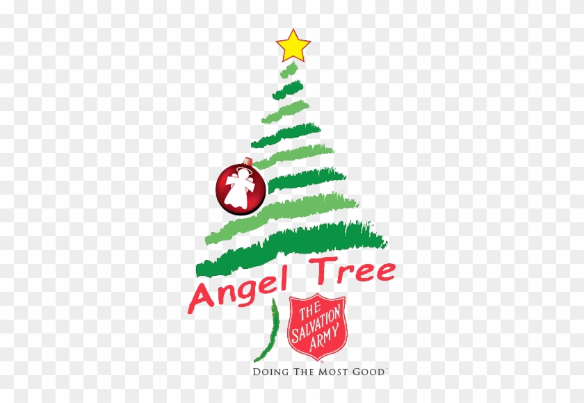 Along With The Familiar Red Kettles, The Angel Tree - Salvation Army Angel Tree #1003052