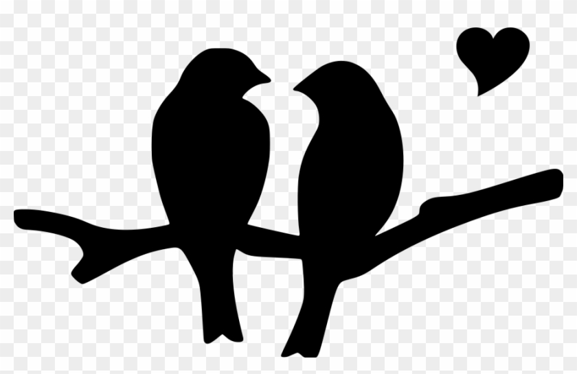 Heart Love Birds File Size - Birds With Heart Images Png #1003113
