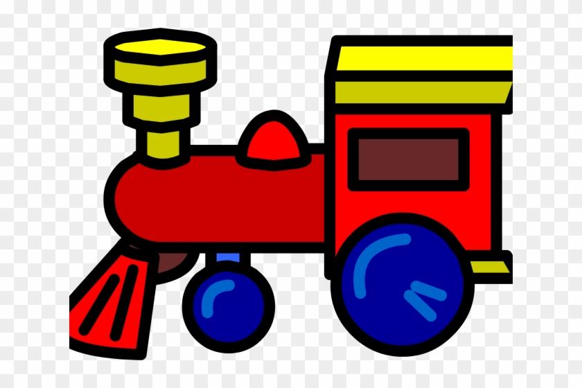 Train Clipart Toy Train - Toy Train Clipart Transparent #1003742