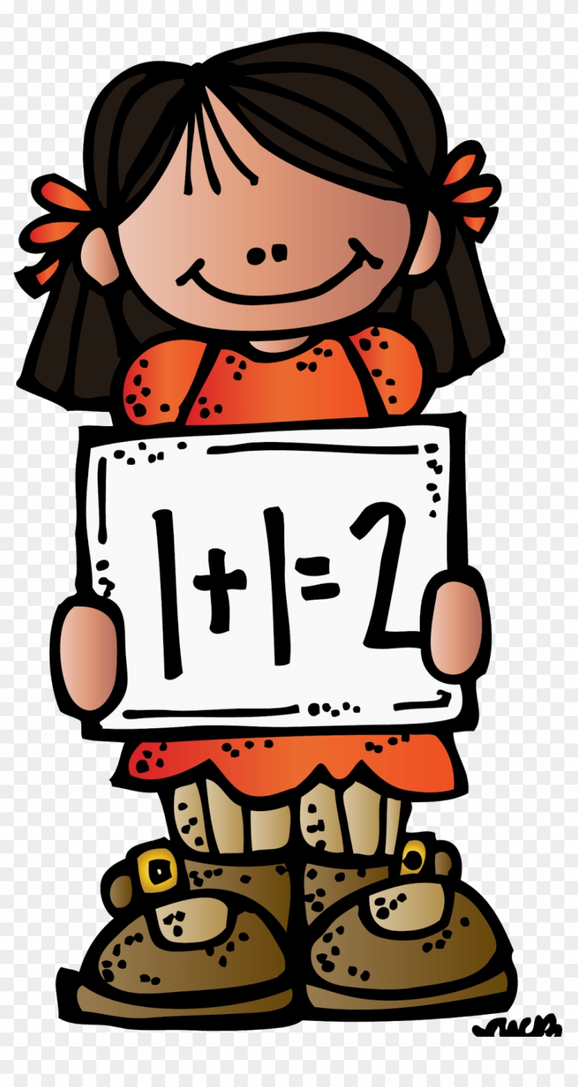 Math Writing Clipart - Melonheadz Clipart School #1003781