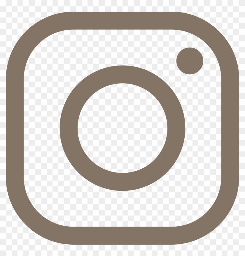 Social Media Computer Icons Instagram Social Network - Instagram Logo Outline #1004430