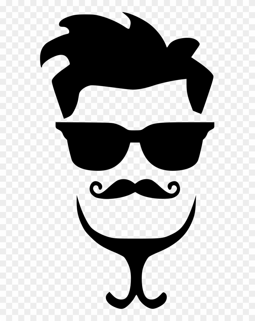 Gay Hipster Man Hair Fasion Style Glasses Comments Hairstyle Png