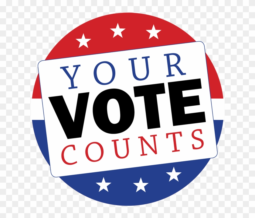 Voter Registration Deadline - Your Vote Counts Png #1004510
