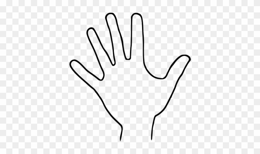 Hand Outline Clip Art Hand Print Outline Free Transparent Png Clipart Images Download Our free cutout pngs have no royalties. hand outline clip art hand print