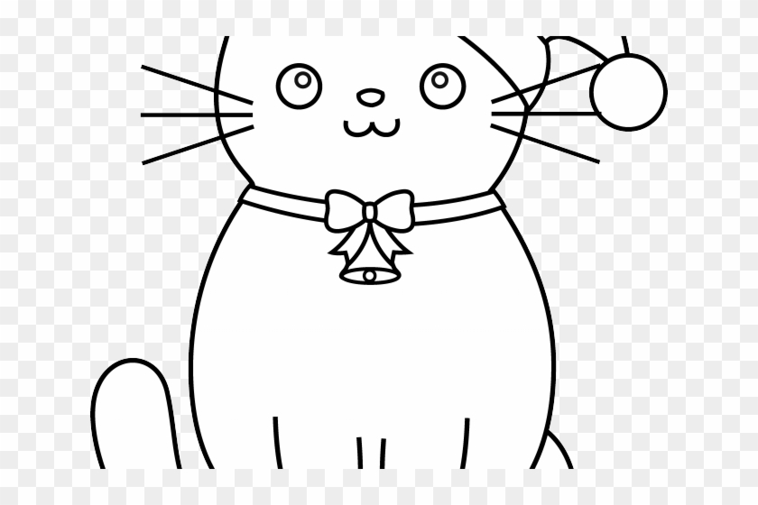 Раскраска про кота барсика