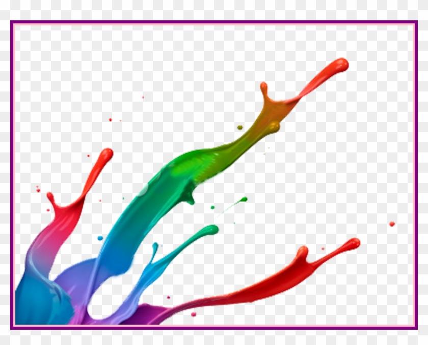 Butterfly Background Butterfly Clipart Transparent - Colour Splash Paint Png #1005268