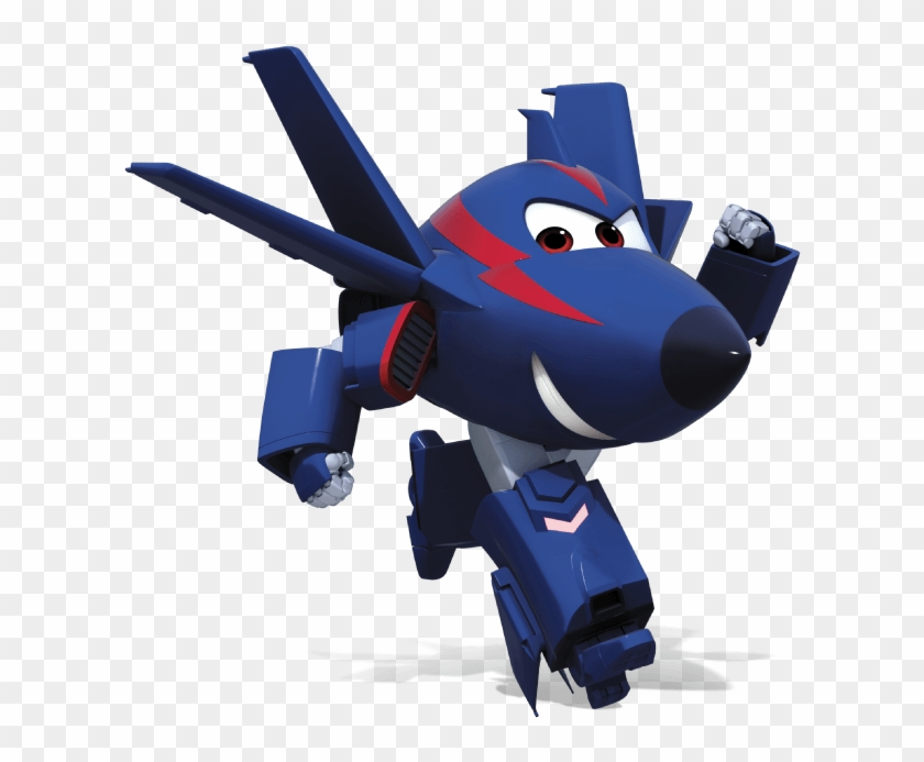 Chase The Fighter Jet - Super Wings Chace #1005449